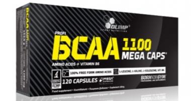 BCAA MEGA CAPS® 120KAPS